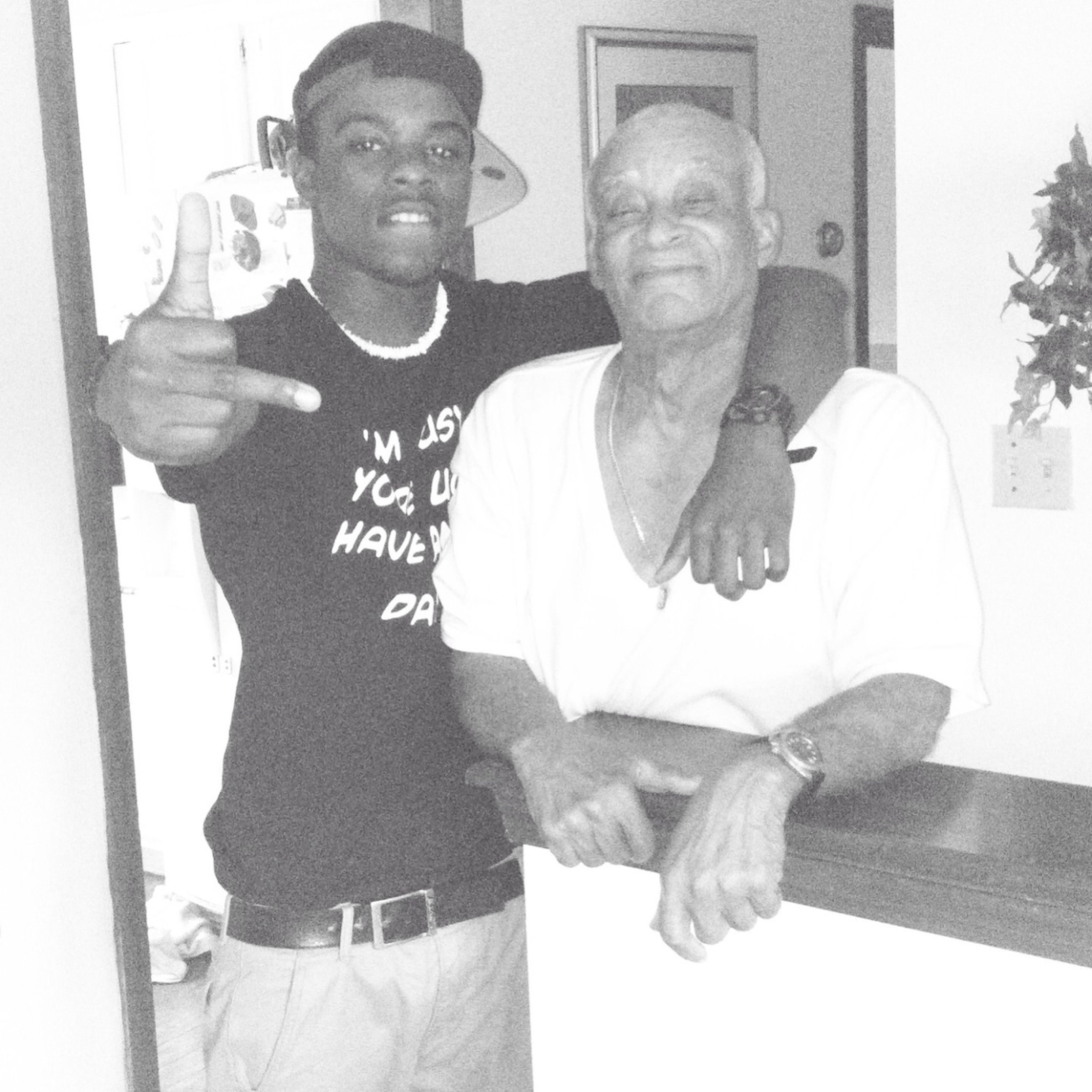 Chillin With My Grandpa I Love This Guy