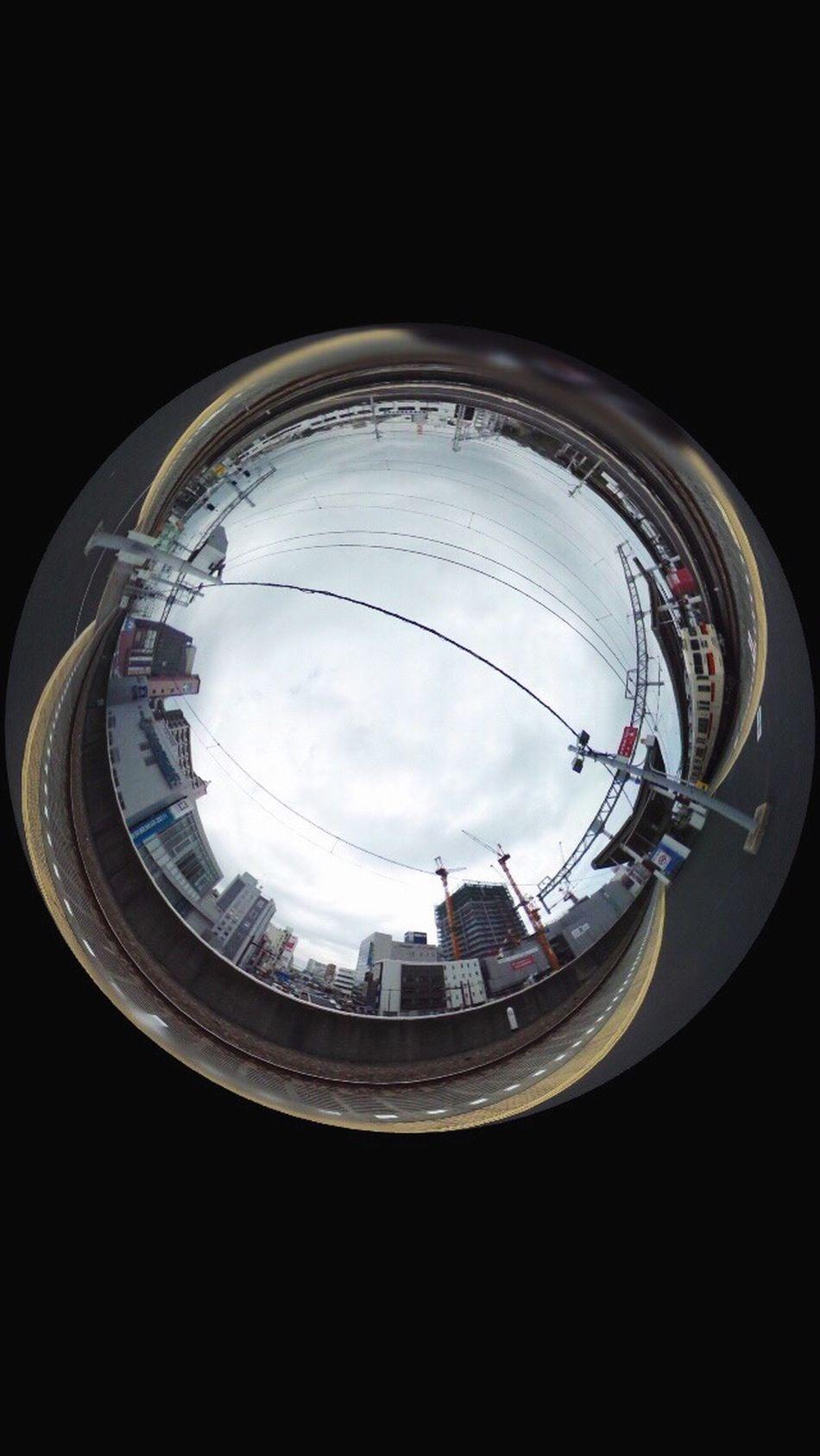 不思議 360° Ricohtheta 駅 異世界 カメラ女子 写真好きさんと繋がりたい 曇り 暖かい Happy