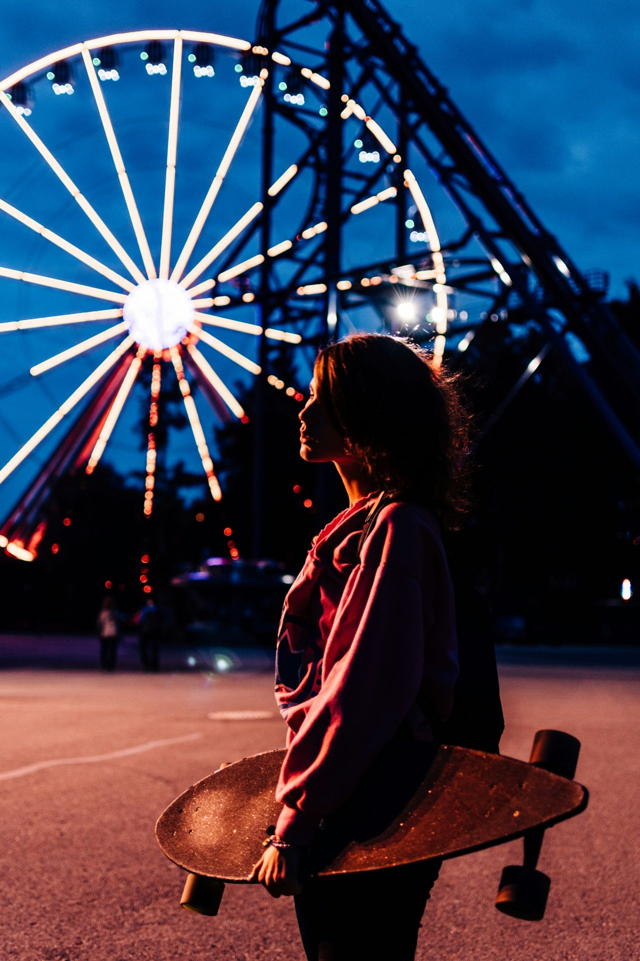 Beautiful stock photos of russia, 20-24 Years, Amusement Park, Amusement Park Ride, Arts Culture And Entertainment