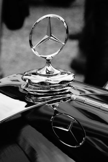 Retro Classics in Ludwigsburg 2016 Black Blackandwhite Photography Car Show Chrome Classic Car Close-up Cooler Detail Eye4photography  EyeEm Gallery Hood Ornament The Drive Mercedes Mercedes Benz Mercedes Star Mirror Effect Mirrored Oldtimer Retro Classics Selective Focus Focus Object Star Still Life Fine Art Photography Monochrome Photography My Year My View The Great Outdoors - 2017 EyeEm Awards The Street Photographer - 2017 EyeEm Awards Black And White Friday