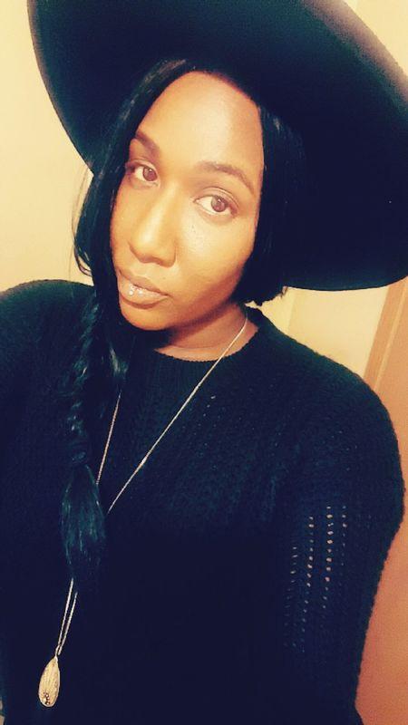 Fashion Black Hair Natural Beauty Selfie ✌ Snapchat Me @electriclady_83 Looking At Camera Columbus Ohio Tattedgirls Hello World JustMe Blackgirlsrock Black Night Monalisa Portrait