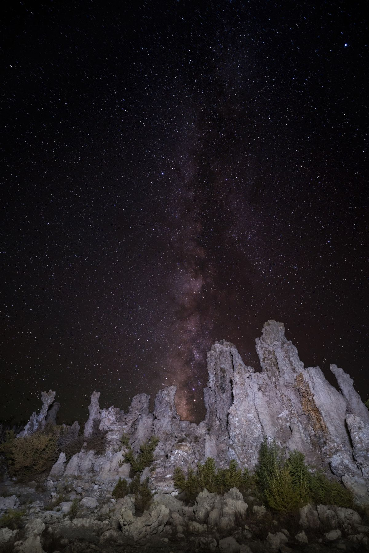 Mono Lake South Tufa Night Star - Space Astronomy Beauty In Nature Scenics Nature Sky Space Galaxy Geology Milky Way Low Angle View Constellation Star Field Outdoors California California Love USA USAtrip