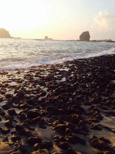 Beach IPhoneography Rocks Beautiful