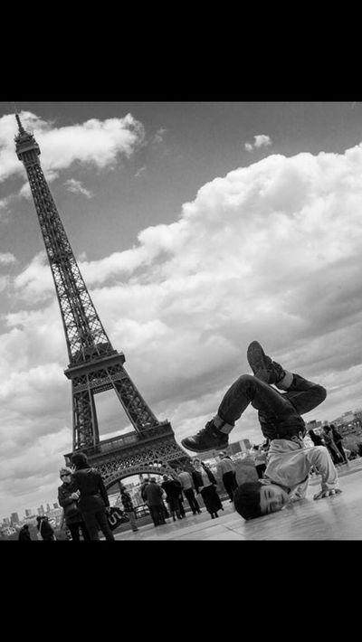 Paris B&w Blackandwhite#stre Schwarz & Weiß
