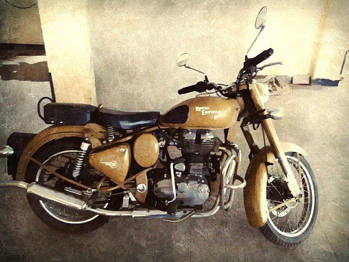 Royal enfield love the bike old bike