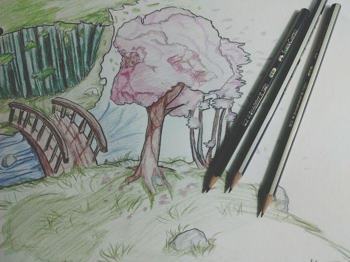 Art Draw Beautiful Natura