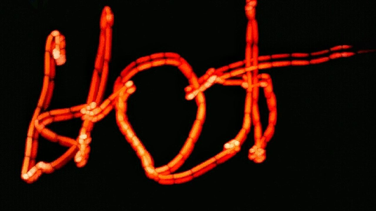 Hot Long Exposure Night Time Long Exposure Night Photography Night Time Long Exposure After Dark Shadows & Lights Shapes And Patterns  Colors And Shapes Letters Words Red Hot Red Letters