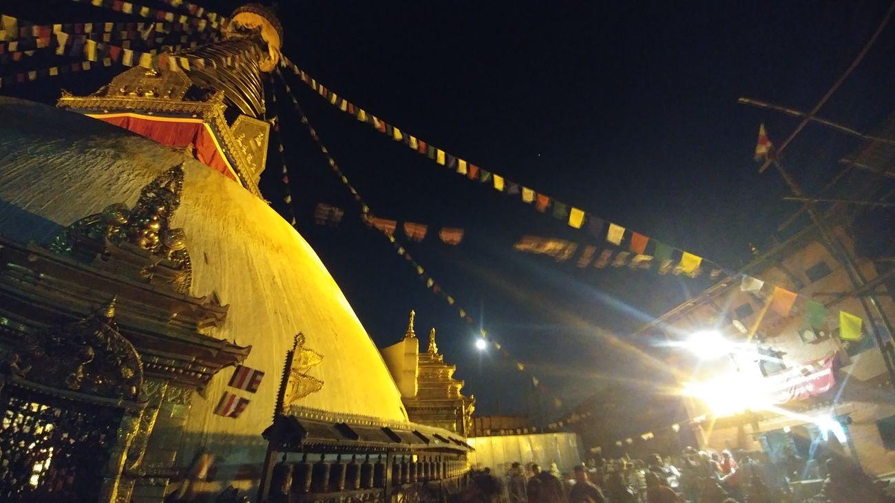 Night lights and culture, Buddha Jayanti Swayambunath Stupa Kathmandu, Nepal Buddha Illuminated Night Ancient Civilization Culture Culture And Tradition Heritage Building Newari