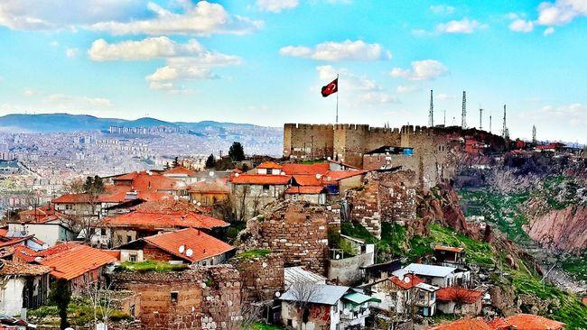 Hello from CastleBlack 😉 Ankarakalesi Ankara Castle Sightseeing EyeEm Best Shots Taking Photos Ankara Turkey