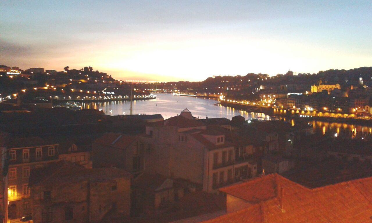 The City Light lights Douro  River City
