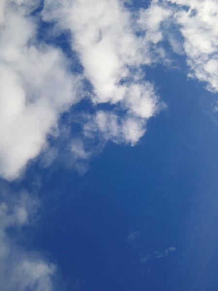 Light Clouds Blue Sky
