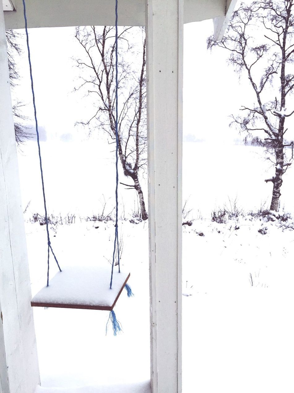Let's Swing Wintergarden Winter Landscape