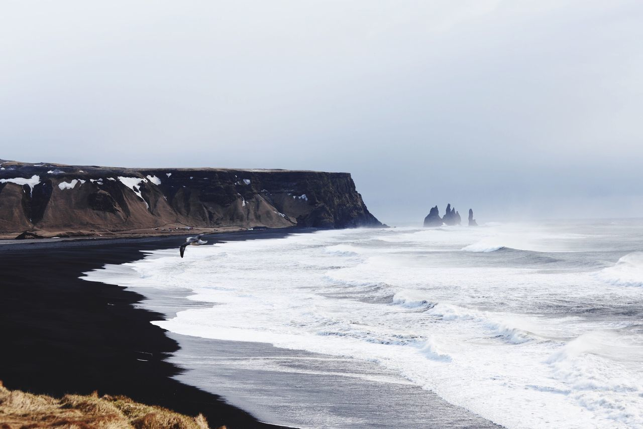 Beautiful stock photos of iceland, Beauty In Nature, Copy Space, Day, Fog