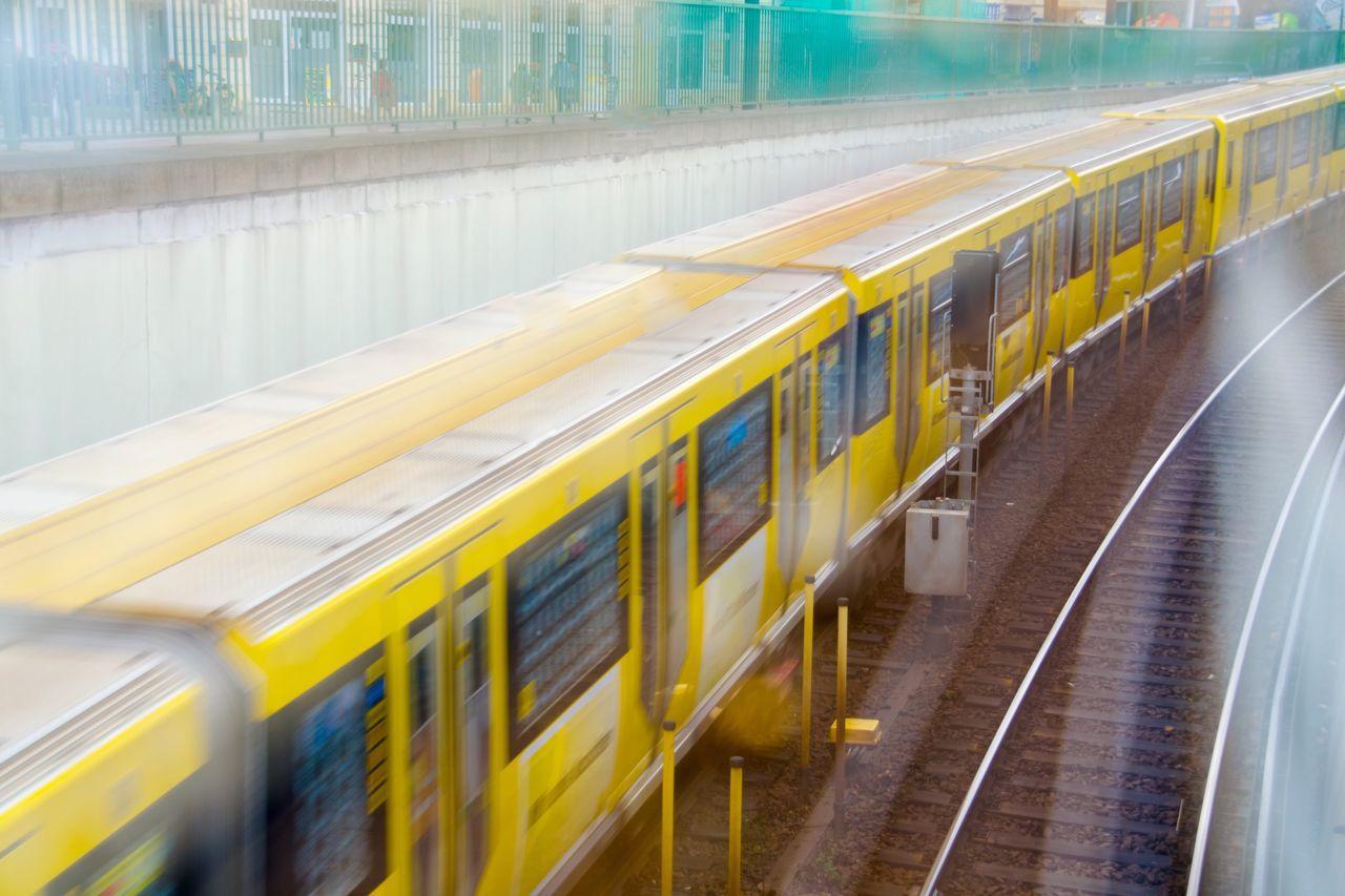 My Eyes My Berlin Transportation Rail Transportation Mode Of Transport Motion Blurred Motion Double Exposure Double & Double Railroad Track City EyeEm Best Shots Urban Exploration EyeEm Masterclass Things Organized Neatly EyeEm Diversity