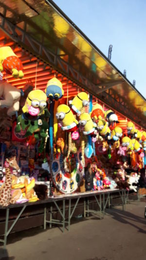 A day at the Funfair - Attractions - Relaxing Time - Fresh Colors - Nice Day