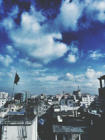 Dhaka Sky Beauty Of Bangladesh