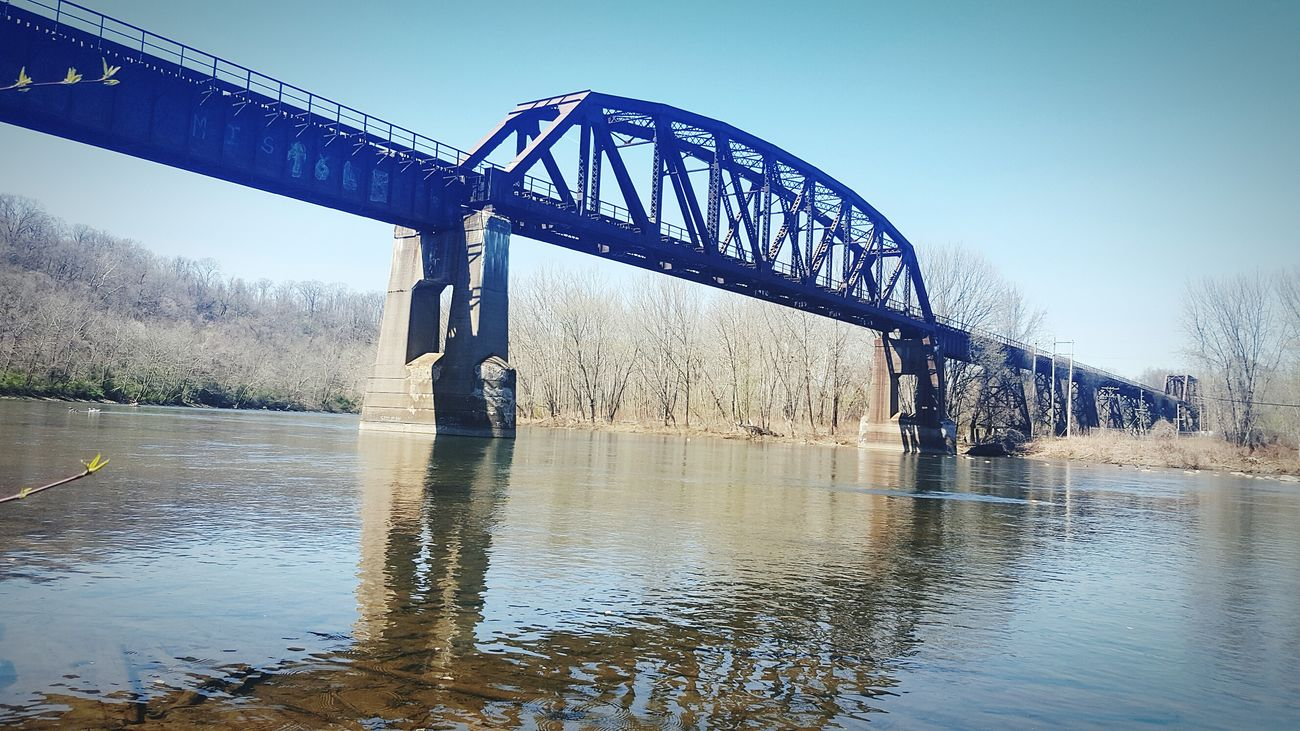 Connellsville Check This Out Landmarks Oldrailroad Railroadbridge Bridge - Man Made Structure Bridges Cellphone Photography Samsung Galaxy S6 Enjoying Life Taking Photos Architecture&nature Mytown