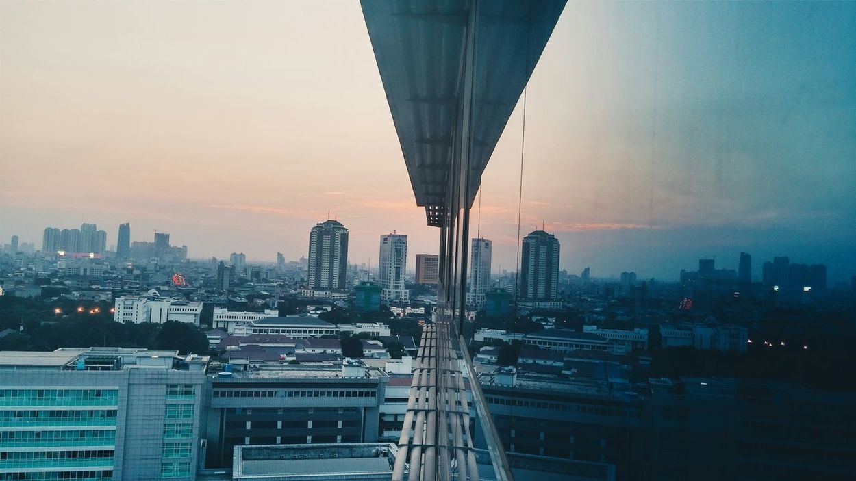 Deceptively Simple I Love My City Capture The Moment Jakarta Indonesia Seing The Sights Blue Wave The Architect - 2016 EyeEm Awards Welcome To Black