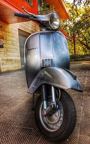 Transportation Mode Of Transport Land Vehicle No People Tire Day Outdoors Close-up Vespa 1977 Italianstyle