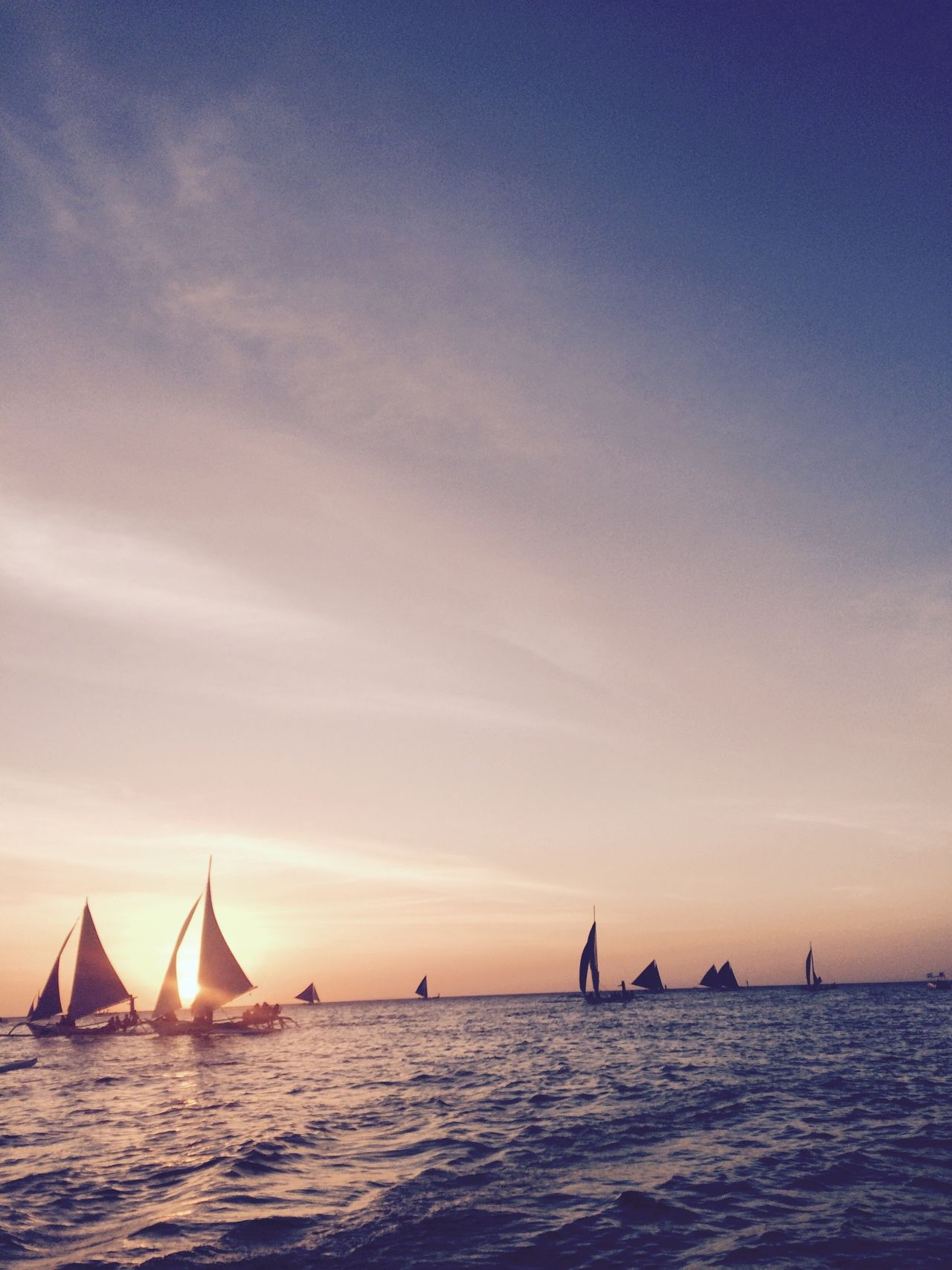 Beautiful stock photos of canvas, Beauty In Nature, Canvas, Gibong, Horizon Over Water