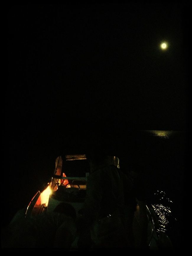 Keep The Lights Low Moonlight Boat Moon Light Sea Learn And Shoot: After Dark