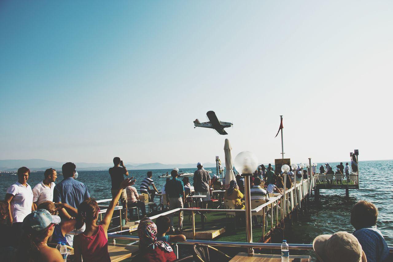 Balıkesir Güre - A usual plane surfing festival in Balıkesir. Summer Sea Plane People Fun Turkey Güre Balıkesir Canon70d