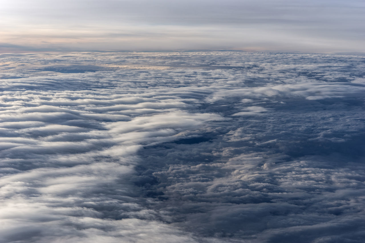 Over the clouds fantastic background with clouds Aerial View Air Background Beautiful Blue Clouds Cumulus Cloud Dream Dreaming Fly Flying Light, Outdoors Scene Taking Photos View Weather