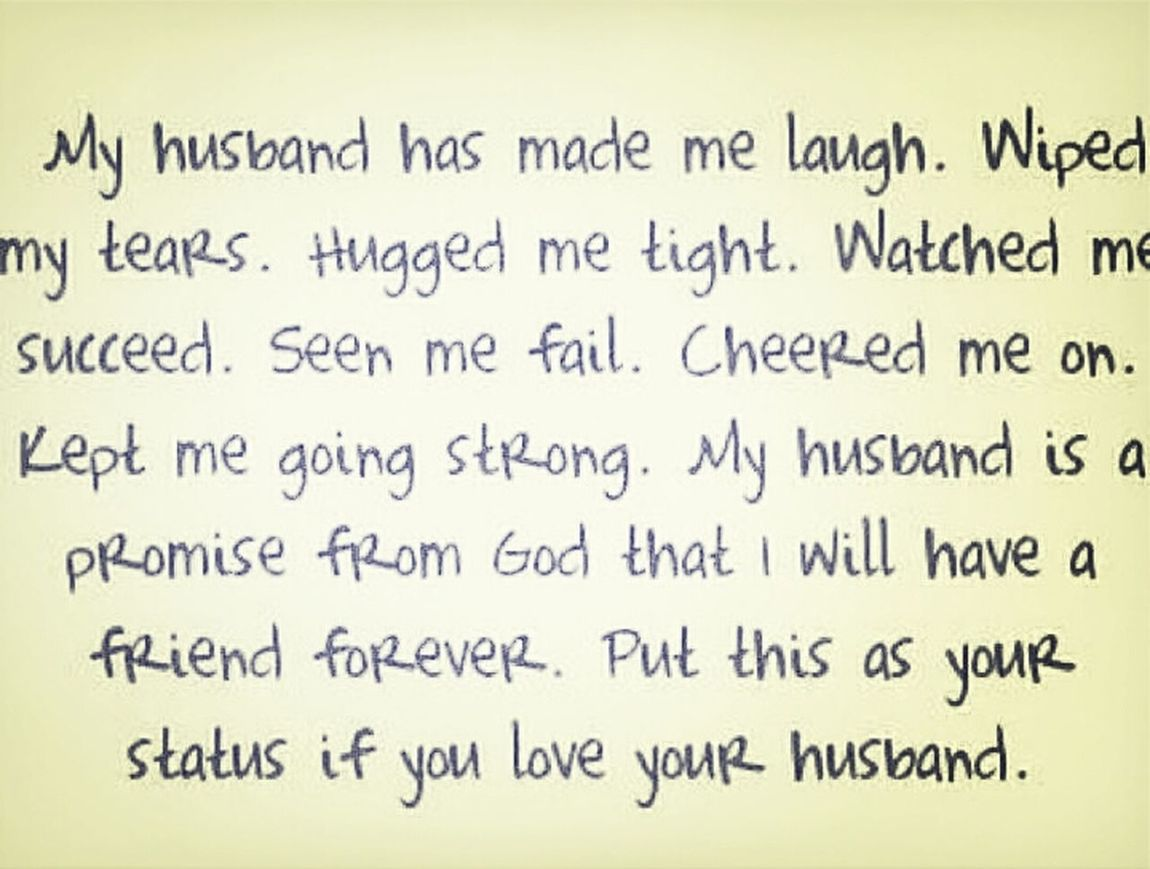 for my husband... Future Husband