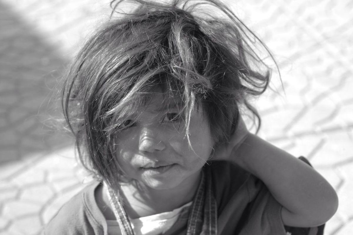 Hanging out blackandwhite portrait enjoying life Children eye4photography  bisgen by Ersin Bisgen