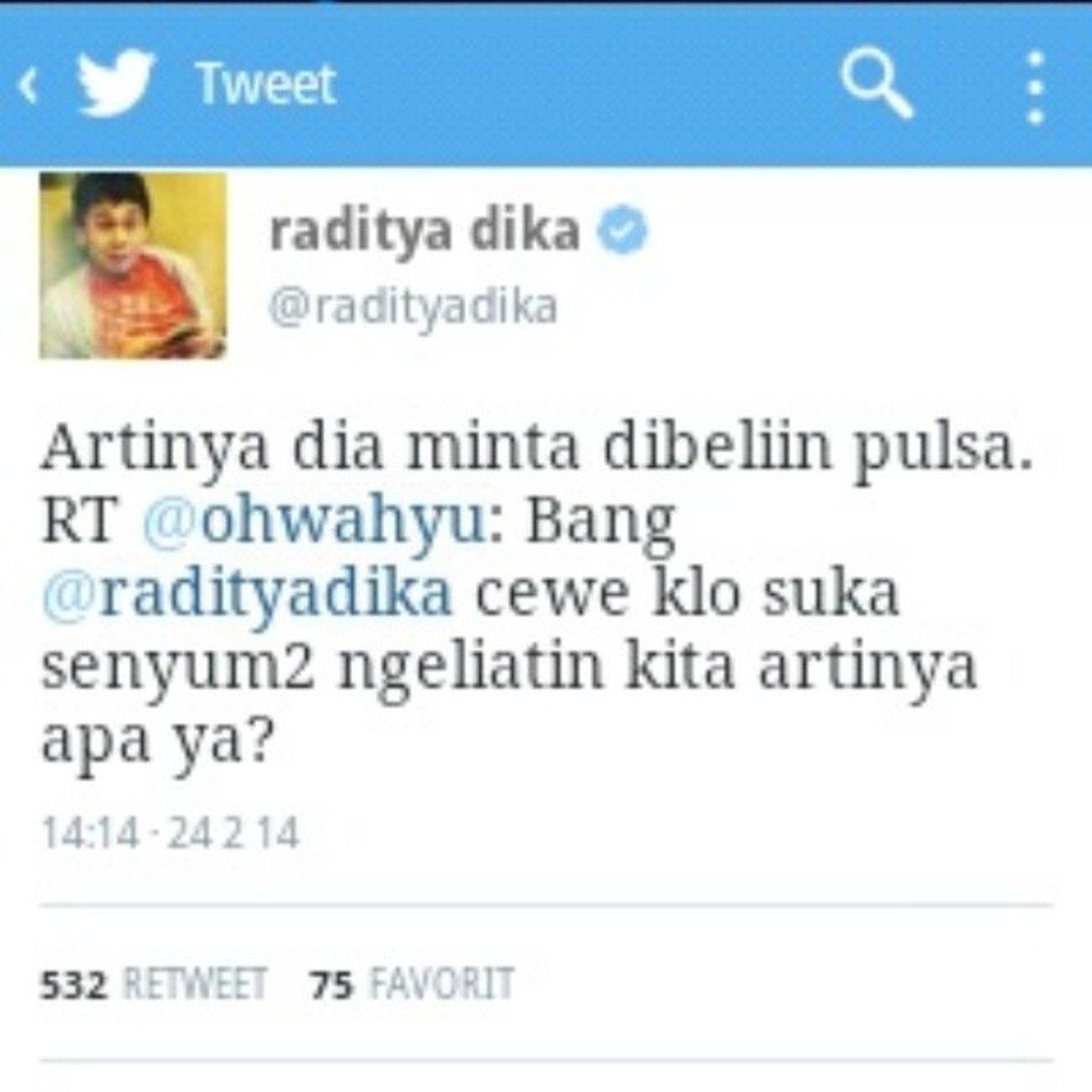 Mention Radityadika