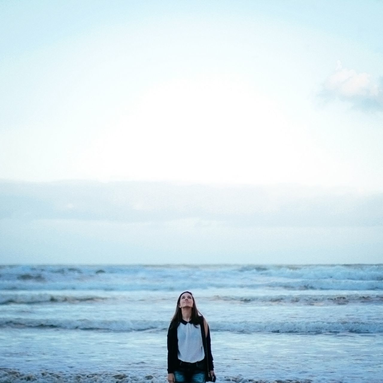 Supersize Yourself With Whitewall Portrait Sea Beach