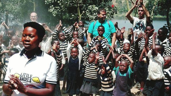 Africa 'Little Angels' Rwanda Mobile Photography HuaweiP8 Dancing Around The World Travel Photography Children Photography Enjoying Life ♥