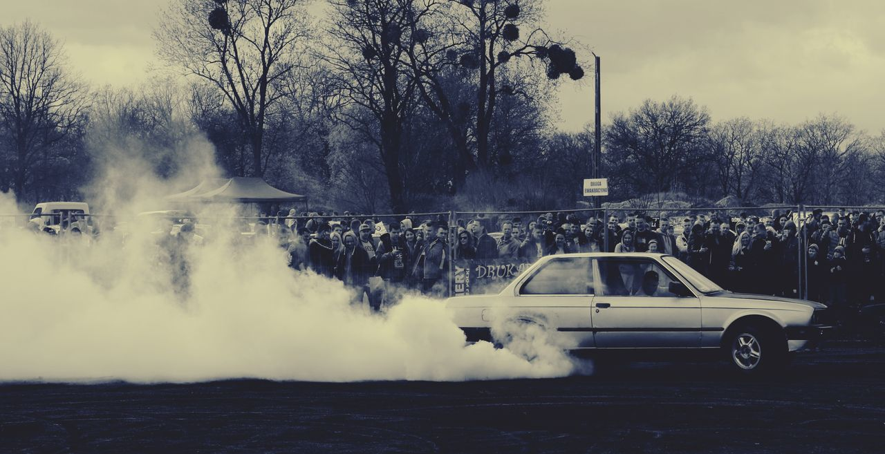 Car Water Sport Tree Motion Spraying Day Outdoors Sky No People Ice Hockey Sports Fog Speed Race Speeding Cars Sports Race Racecar Speedometer CarShow
