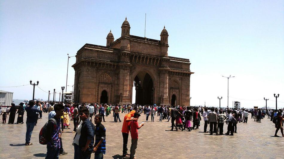 Gateway Of India. 😊😊😊 Mumbaidarshan Traveldiaries