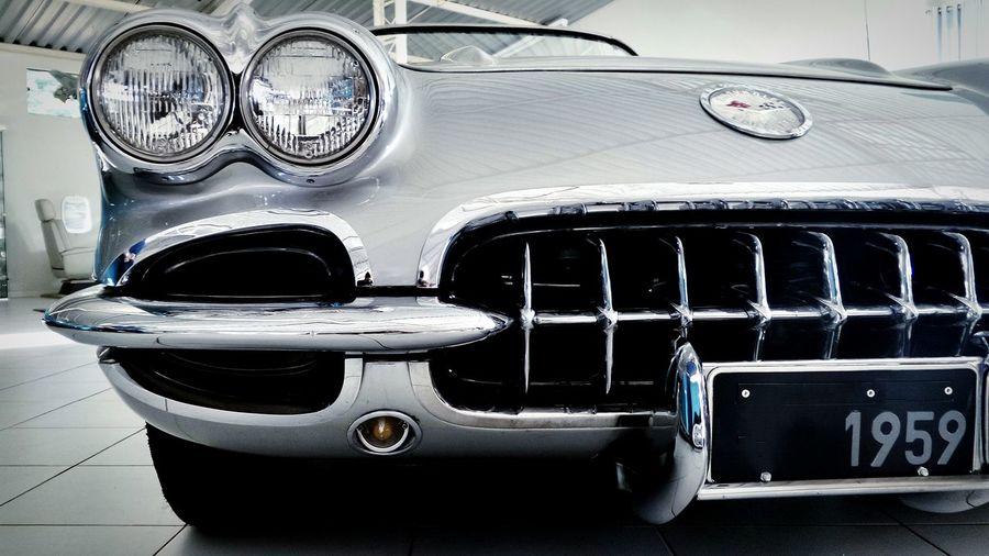 1959 Corvette Antique Car Classic Cars Old Car Corvette AMTPt_community EyeEm Best Shots Shootermag Open Edit Living Bold Monochrome