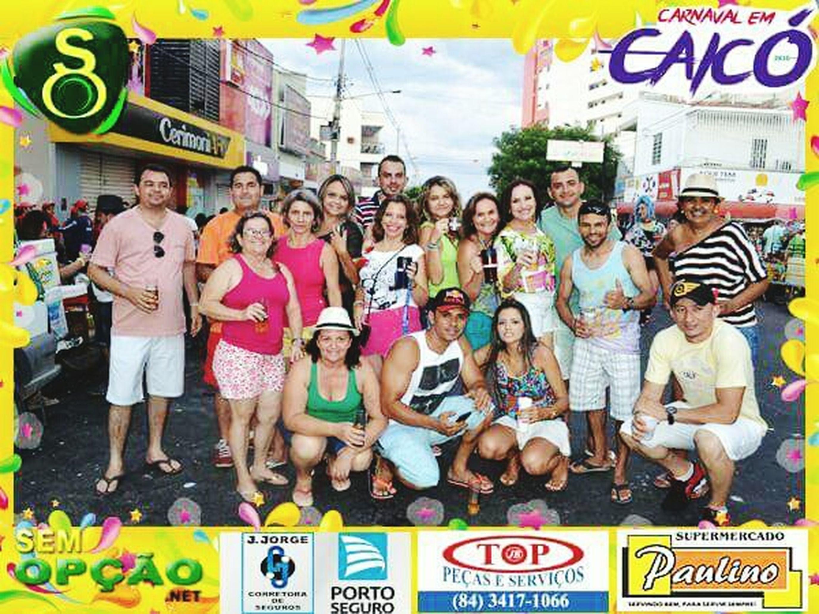 Sobre o sábado de Carnaval com os melhores. CaicoCity