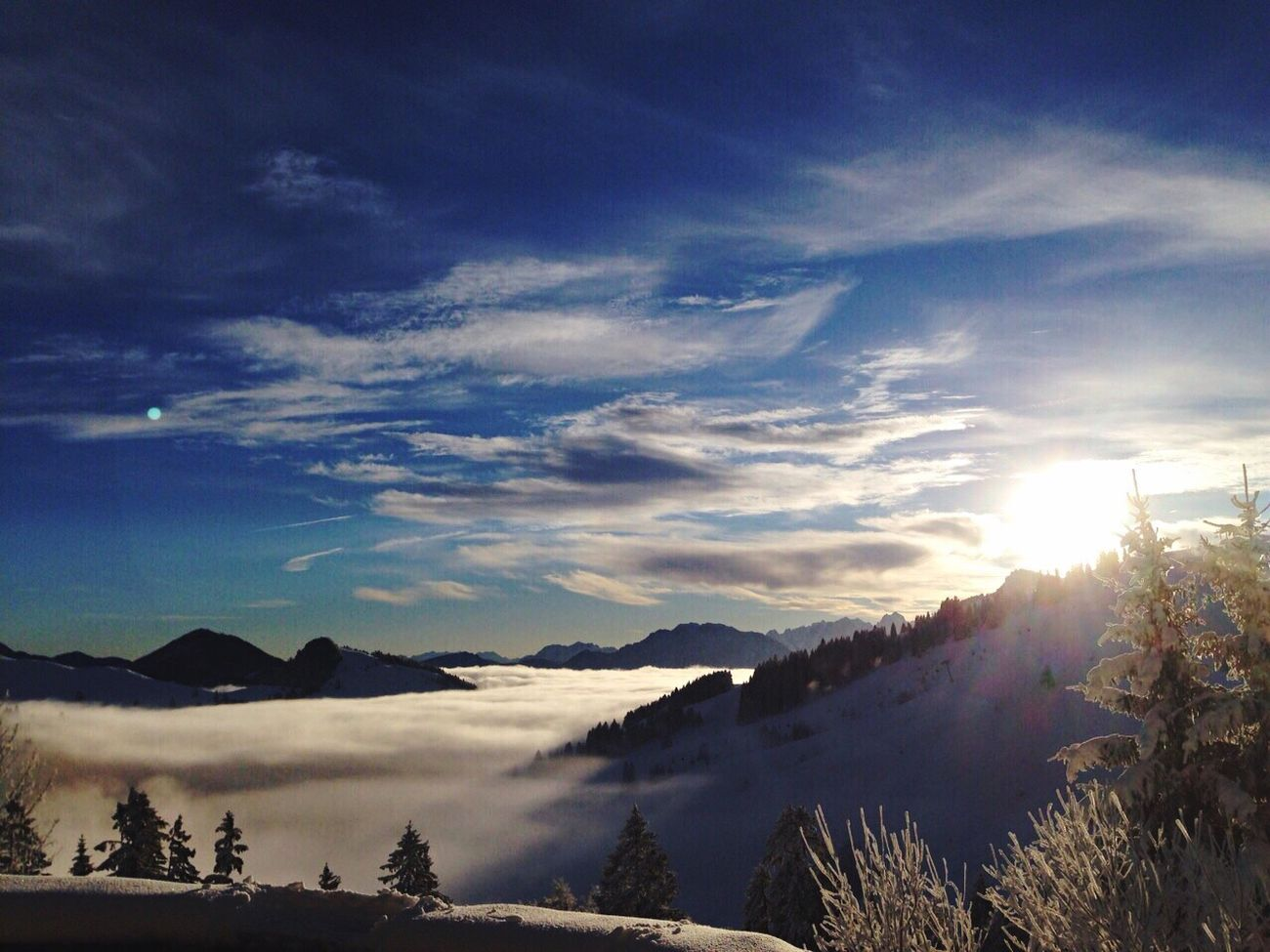 Throwback Photography EyeEm Best Shots - Nature Nature Simple Photography Snow Germany Alps Sun Beautiful Popular Photos EyeEm Nature Lover Sun_collection OneYearAgo Sunshine LastYear Winter_collection OverTheClouds Mountains Mountain View