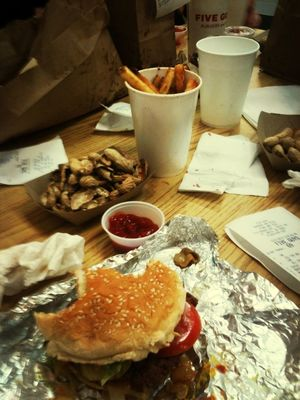 at Five Guys Burgers & Fries by TasminSkye