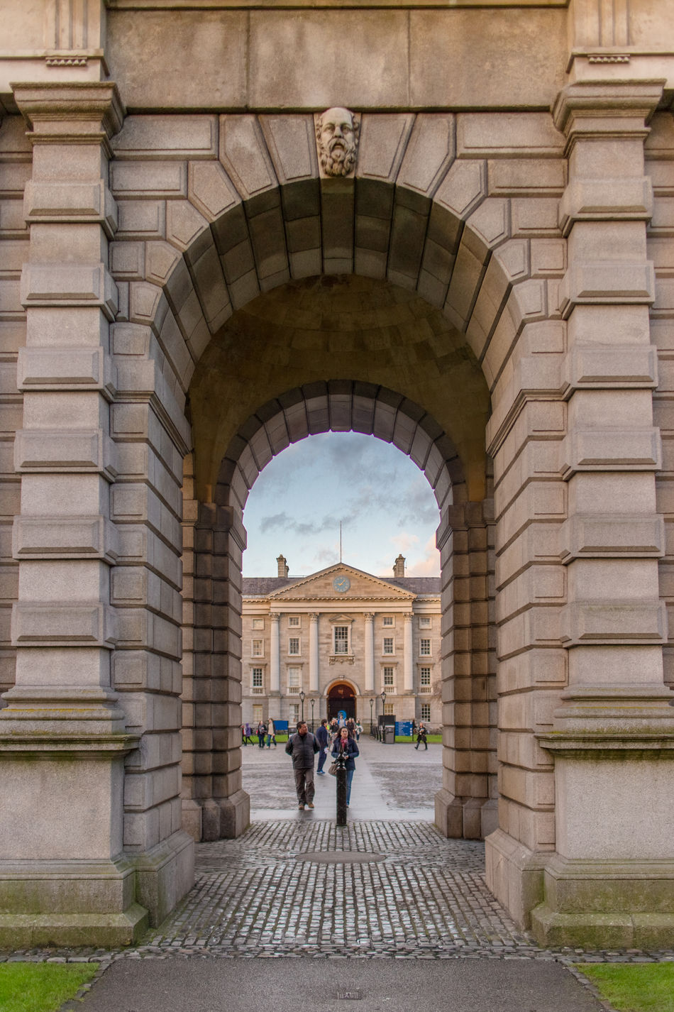 Beautiful stock photos of dublin, Arch, Architecture, Building Exterior, Built Structure