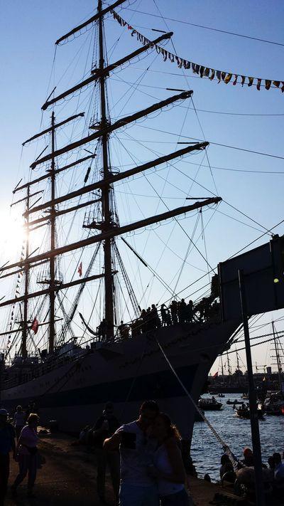 Sail Amsterdam 2015 Sail2015 Amsterdam Ships Sail Tallships Mast The Purist (no Edit, No Filter) Sailing Enjoying Life