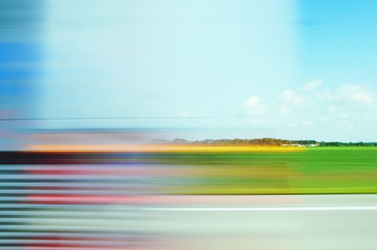 Beautiful stock photos of time, blurred motion, motion, sky, blue
