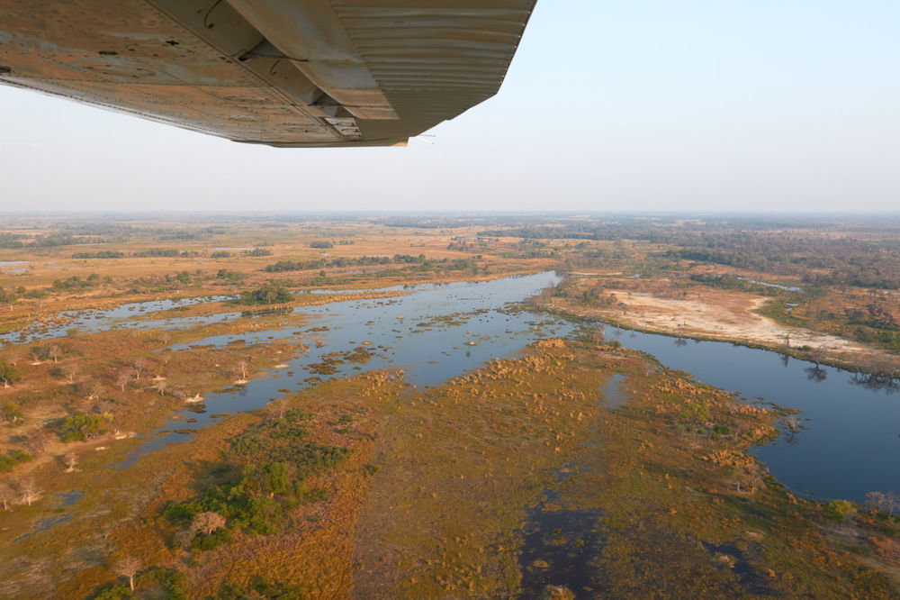 Okavango River from above Aerial View Beauty In Nature Botswana Day Lake Landscape Nature Nature No People Okavango Delta Okavango River Outdoors River Scenics Sky Water Wild Wilderness Wilderness Area