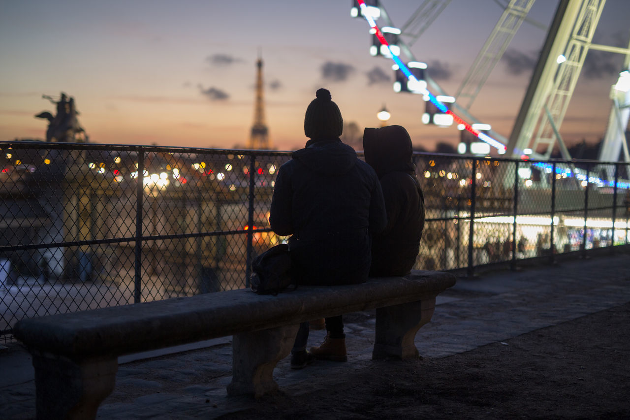 Beautiful stock photos of paris, Amusement Park, Bench, Bonding, Cold Temperature