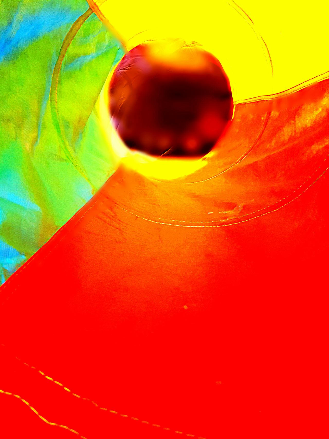 There's light at the end of the tunnel.... Taking Photos Check This Out End Of The Tunnel Light In The Darkness Light At The End Of Tunnel No People Not Serious But Like Bright Colors Bright_and_bold Focused Deep Colors Blurred Sharpened Sound And Vision Spiral Of Love Hapinness