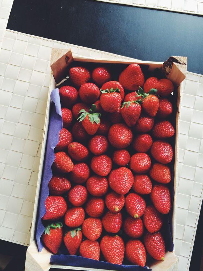 Yummy Relaxing Enjoying Life Strawberry