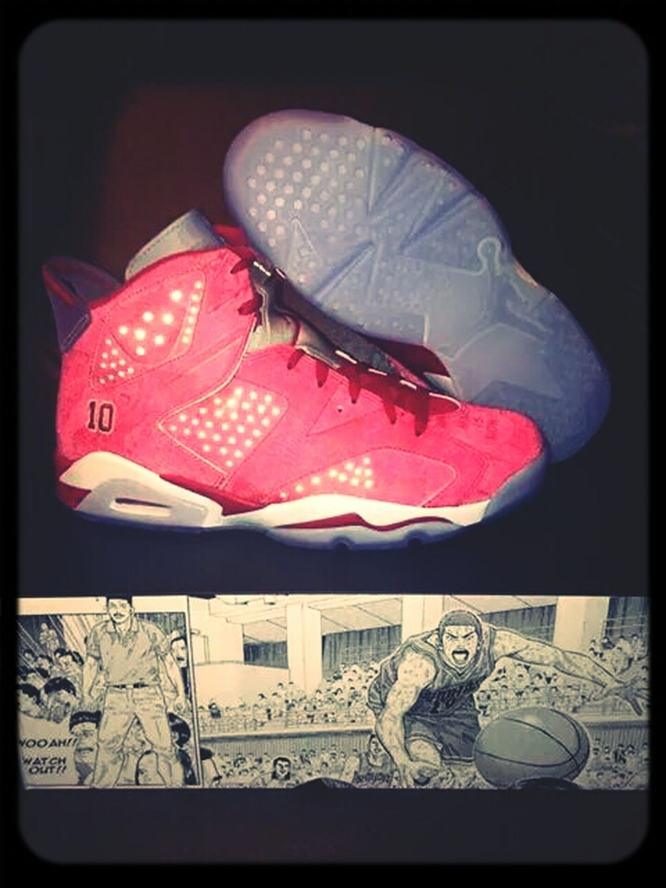 This Baby Just Came Out! Jordans On My Feet  Sakuragi cop! Jordans