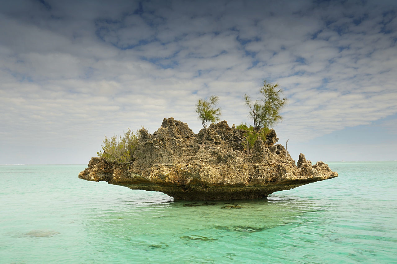 sea, nature, water, sky, beauty in nature, waterfront, tranquility, scenics, rock - object, horizon over water, tranquil scene, no people, outdoors, day