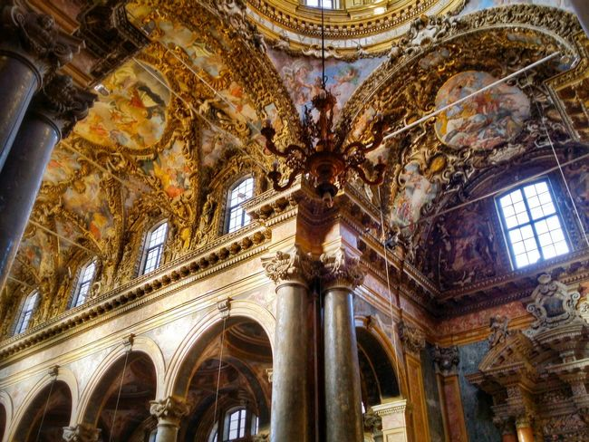 Chiesa Di San Giuseppe Dei Teatini Palermo Sicily Italy Travel Photography Travel Voyage Traveling Mobile Photography Fine Art Baroque Architecture Churches Decorated Vaults Extraordinary Decorations Magnificent Stunning Colours