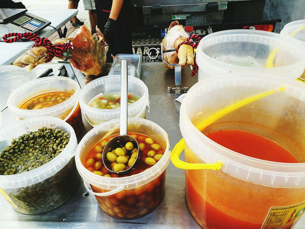 EyeEm Selects Food Day Freshness No People Market Day Market Stall Food Stall Olives Turre Turre Market Fresh Produce Produce