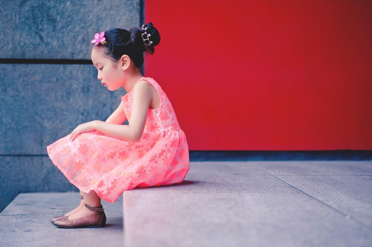 Women Around The World She loves her new skirt Little Girl Beauty Girl Lovely Nice Baby Childhood Chinese Girl EyeEmNewHere